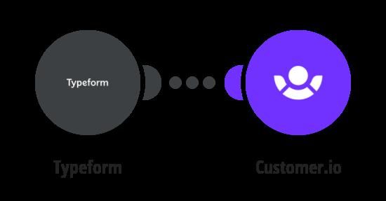 Add Customer.io customers from Typeform responses