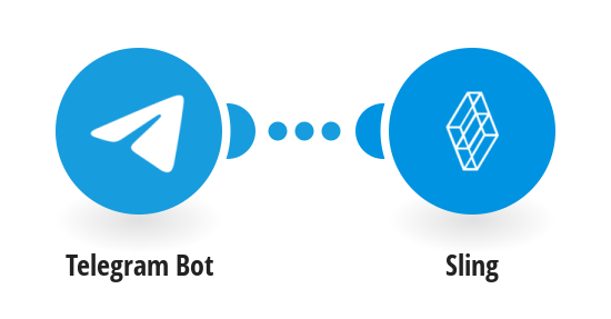 Create Sling messages for new Telegram messages