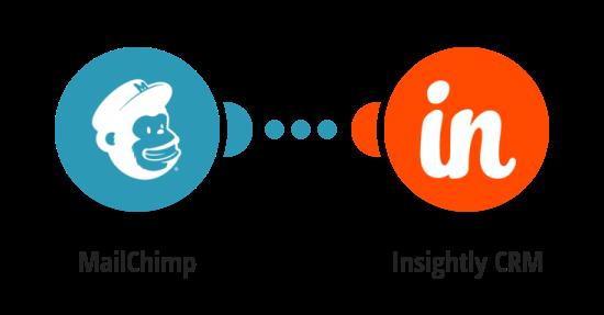 Vytvoření nového lead v Insightly CRM z nového odběratele v MailChimpu