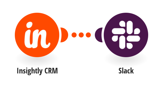 Send Slack messages for new Insightly CRM events