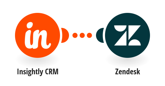 Vytvoření organizace v Zendesku z nové organizace v Insightly CRM