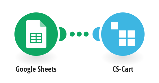 Create products in CS-Cart from new rows in a Google Sheets spreadsheet