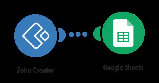 Add new Zoho Creator orders to Google Sheets