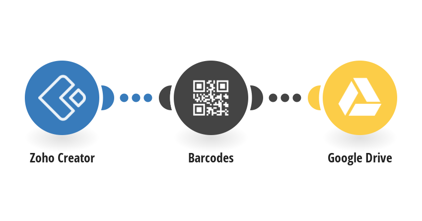 Generate Barcodes for new Zoho Creator records