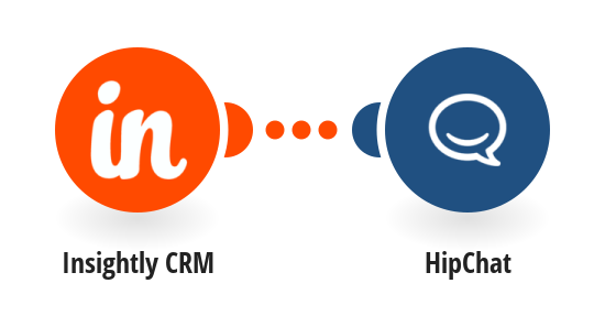 Send HipChat messages for new Insightly CRM events