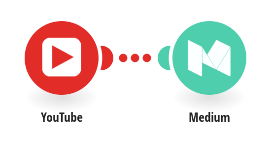 Post new YouTube videos to Medium.com