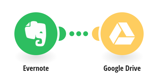 Save new Evernote notes to Google Drive as text files