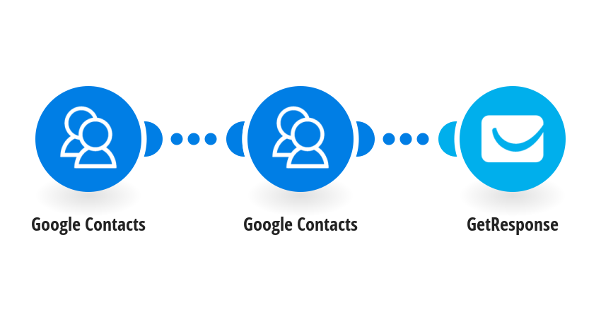 Add new Google Contacts to GetResponse