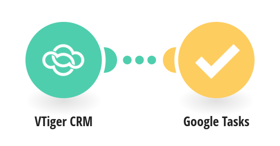 Add new VTiger CRM tasks to Google Tasks