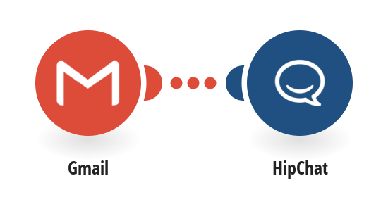 Get HipChat messages for new emails