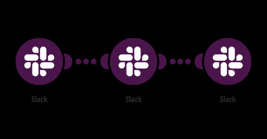 Slack: kopíruj zprávu z kanálu na jiný kanál