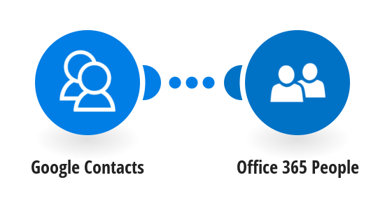 Add new Google contacts to Office 365 People