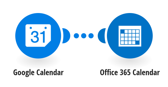 Add new Google Calendar events to Office 365 Calendar