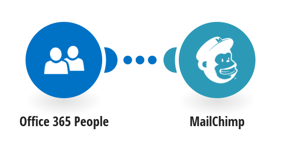 Add new Office 365 People contacts to Mailchimp as new subscribers