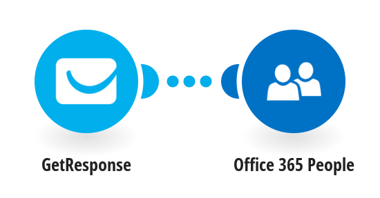 Add new GetResponse contacts to Office 365 People as contacts
