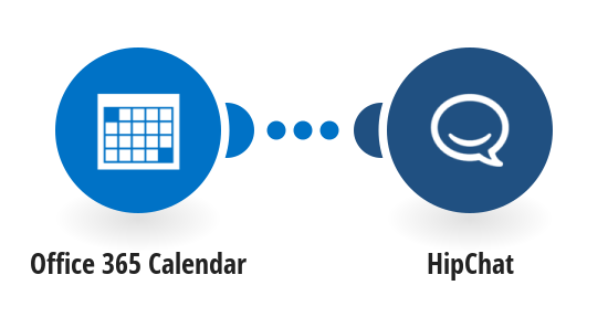 Send HipChat messages for new Office 365 Calendar events