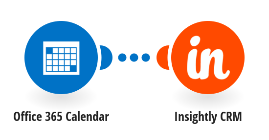 Add new Office 365 Calendar events to Insightly CRM as events
