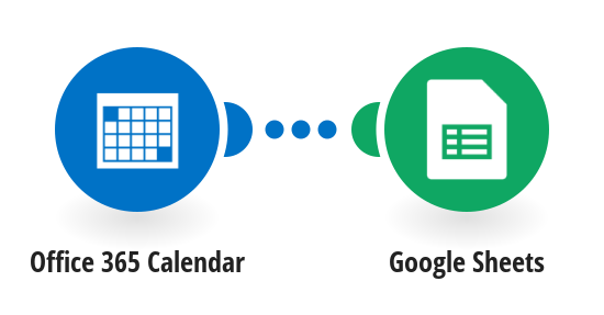 Save new Ofice 365 events to a Google Sheets spreadsheet