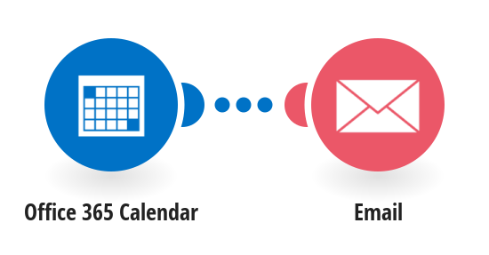 Get emails for new Office 365 Calendar events