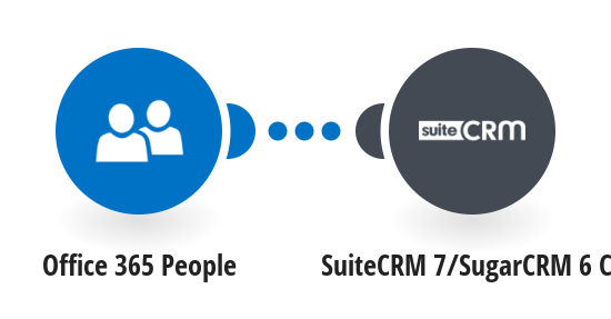 Add new Office 365 People contacts to SuiteCRM 7/SugarCRM 6