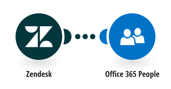 Add new Zendesk users to Office 365 People as contacts