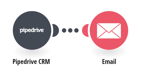 Get emails for new Pipedrive CRM deals