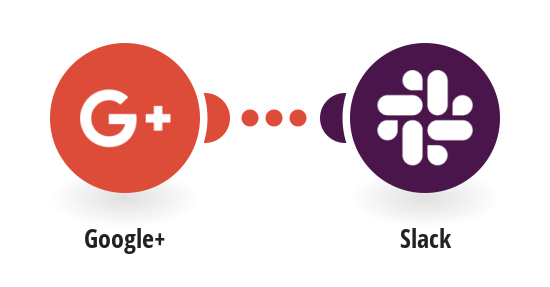 Post Slack messages for new Google+ activities