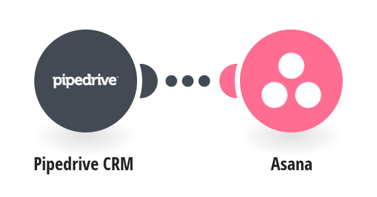 Create Asana projects from new Pipedrive CRM deals