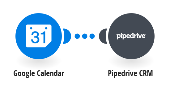 Add new Google Calendar events to Pipedrive CRM as activities