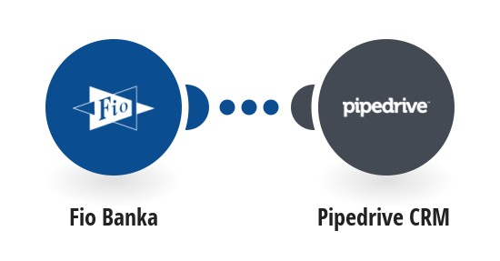 Create Pipedrive notes about your Fio banka account movements
