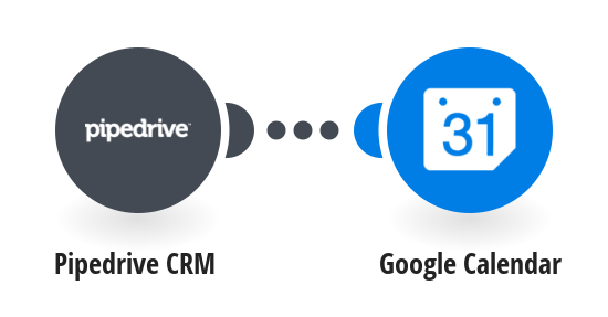 Add new Pipedrive CRM activities to Google Calendar as events