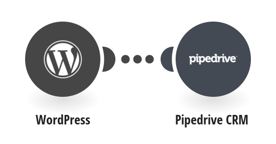 Add new WordPress comment to Pipedrive CRM as notes