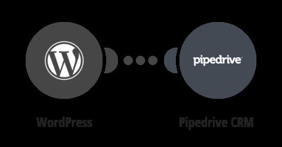 Vytvoření poznámky v Pipedrive z nového komentáře ve WordPressu