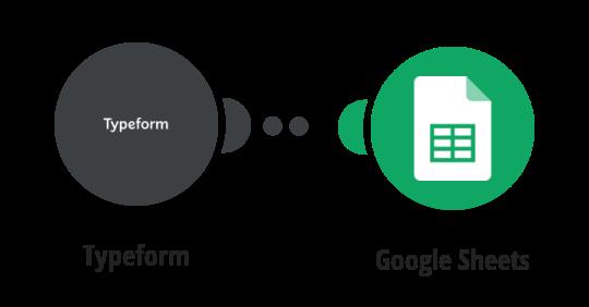 Zapsání nové odpovědi v Typeform do Google tabulky